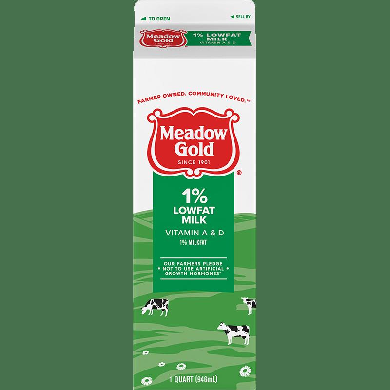 1% Lowfat Milk Paper Quart