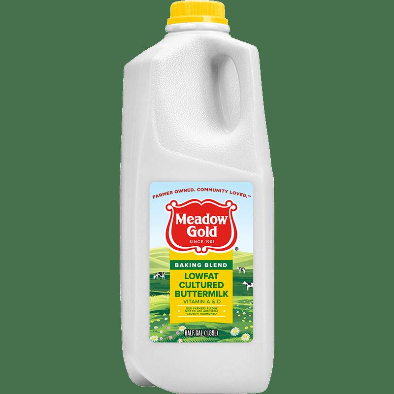 Baking Blend Lowfat Buttermilk Plastic Half Gallon