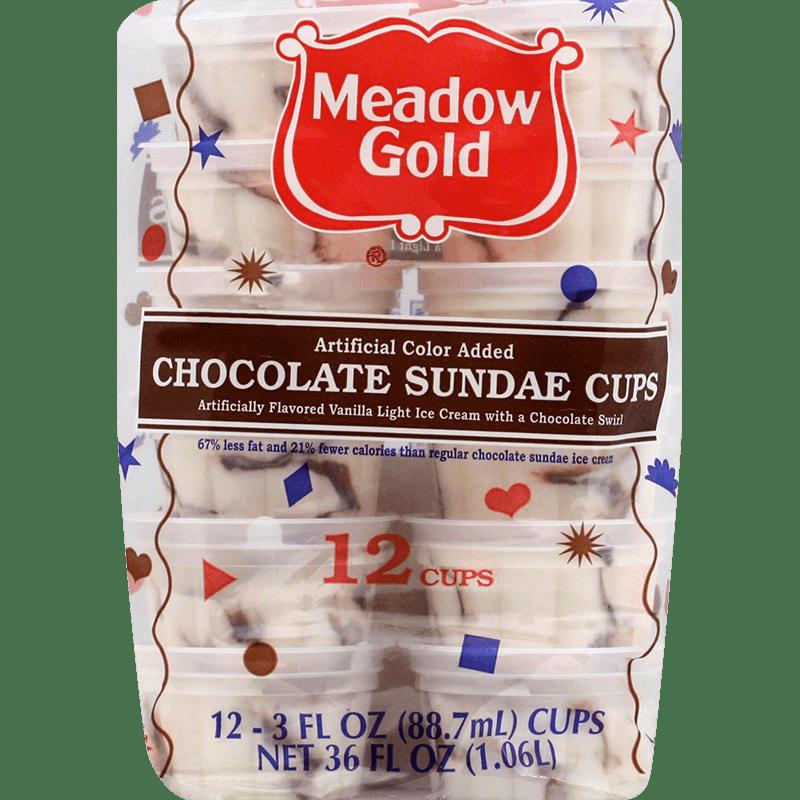 Chocolate Sundae Cups 12 Pk