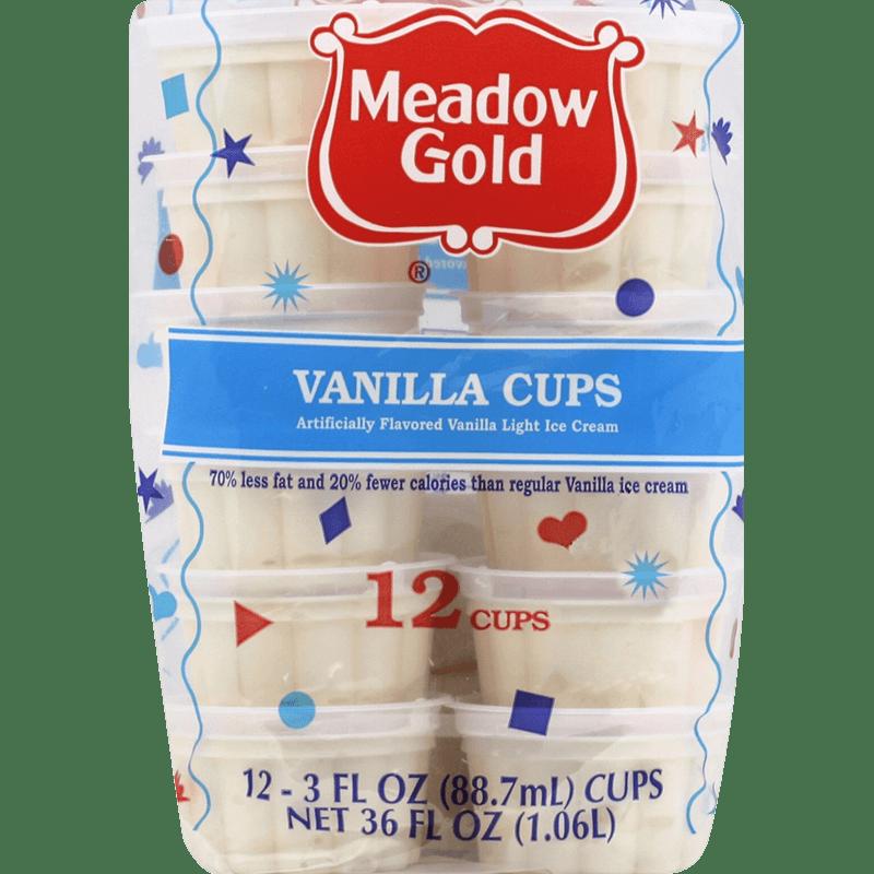 Vanilla Cups 12 Pk