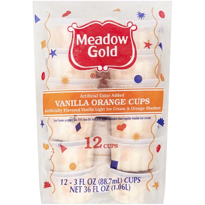 Vanilla Orange Cups 12 Pk