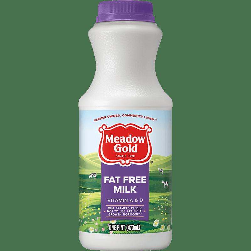 Fat-Free Milk Plastic Pint