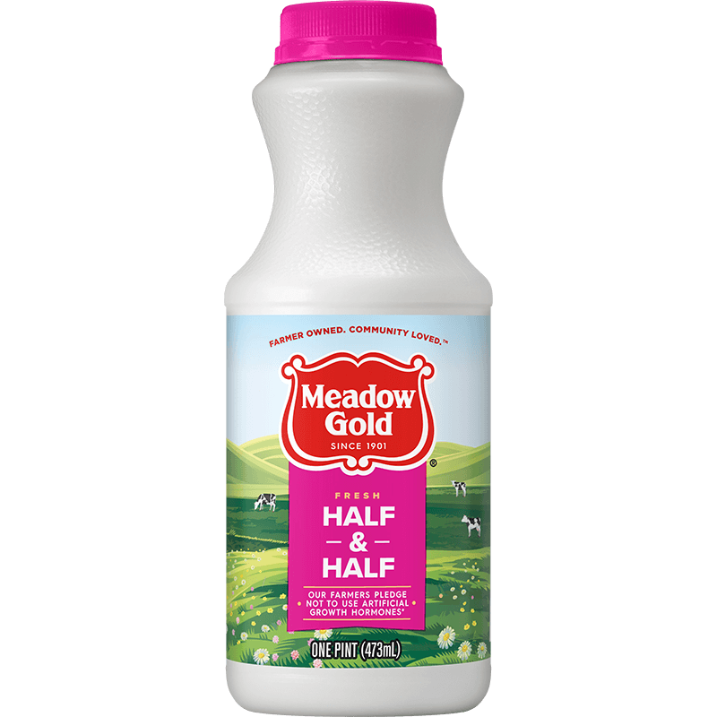 Half & Half Plastic Pint