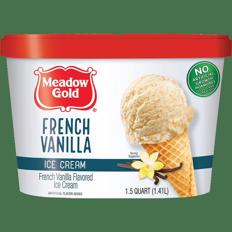 French Vanilla Ice Cream 1.5 Quart