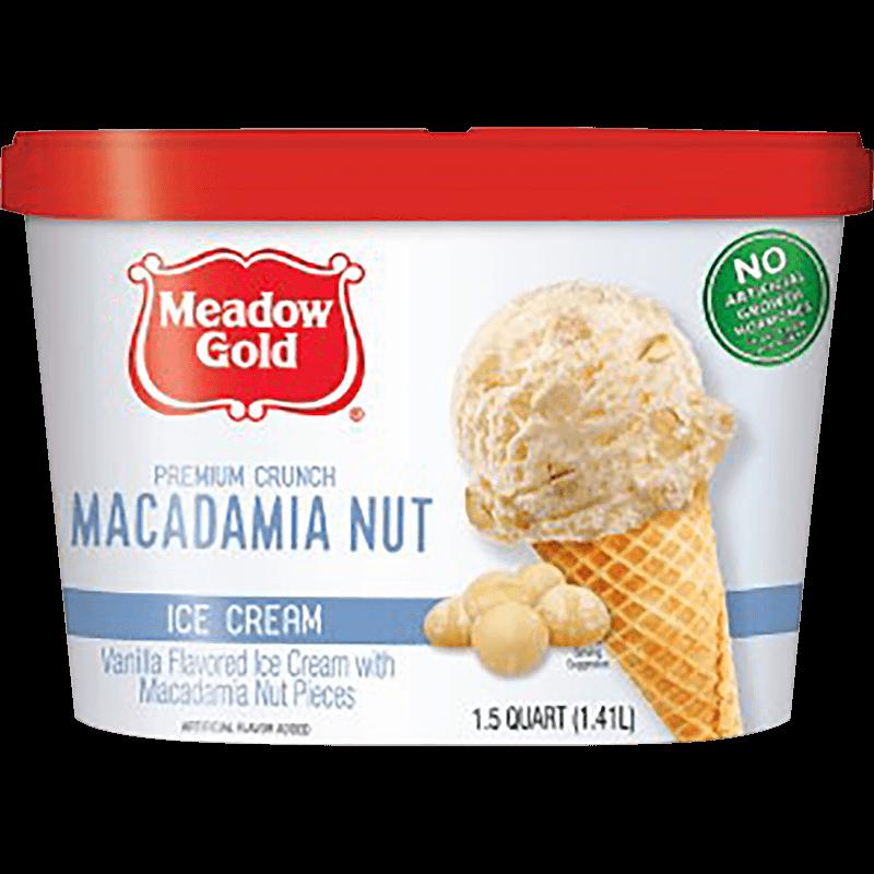 Macadamia Nut Ice Cream 1.5 Quart