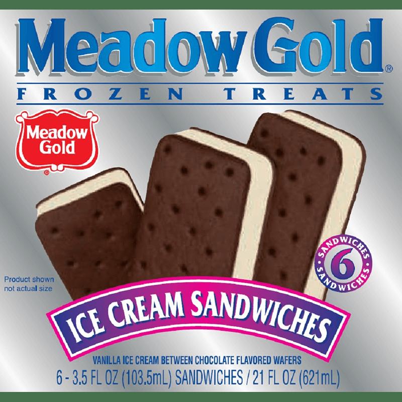 Ice Cream Sandwiches 6 Pk