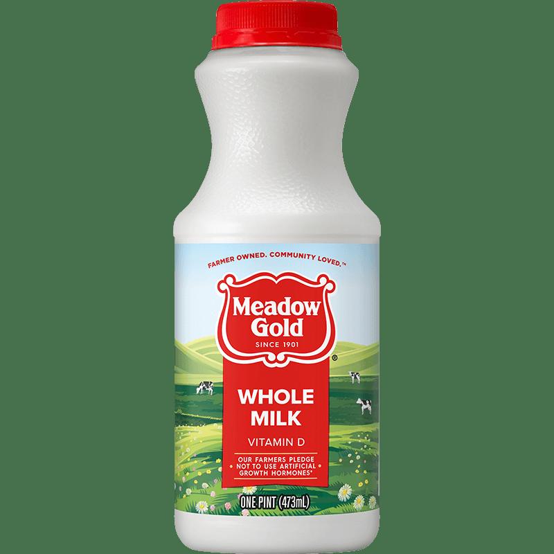 Whole Milk Plastic Pint