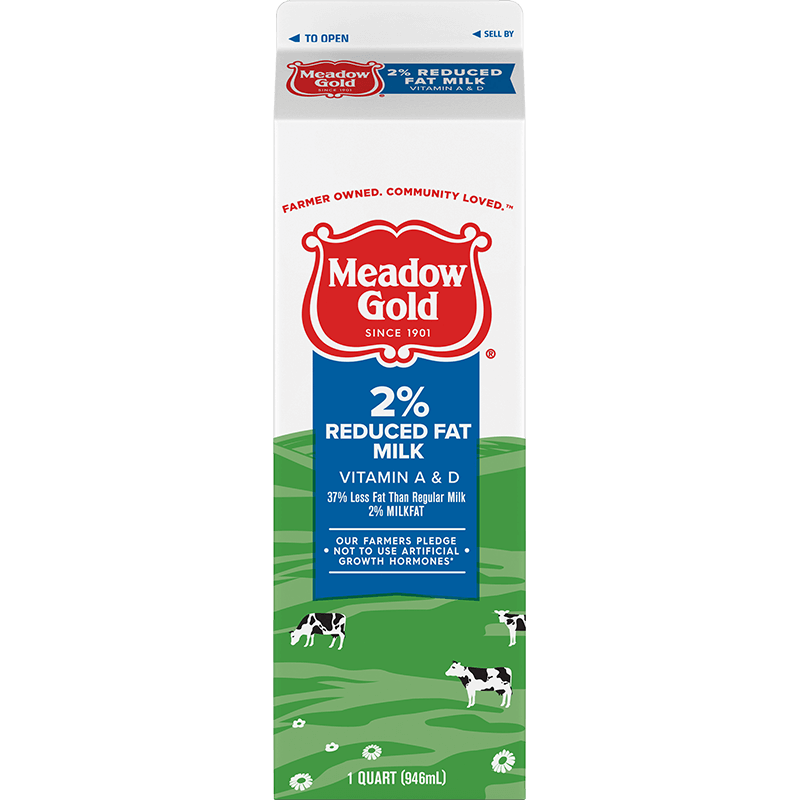 2% Reduced-Fat Milk Paper Quart