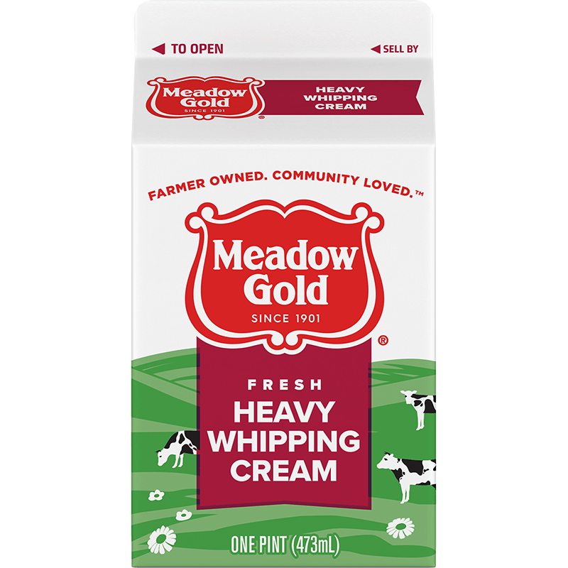 Heavy Whipping Cream Paper Pint