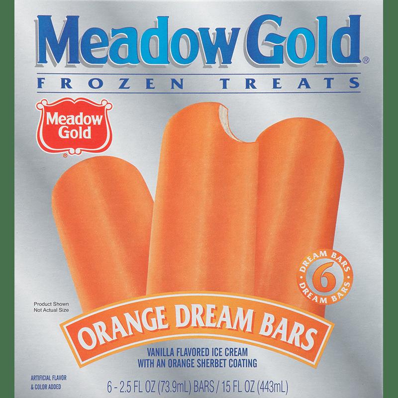 Orange Dream Bars 6 Pk